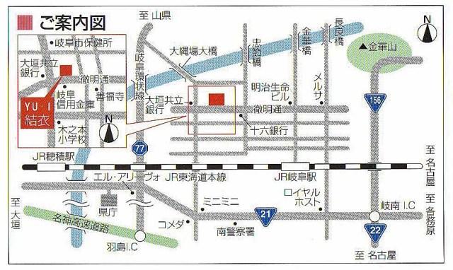 結衣 地図